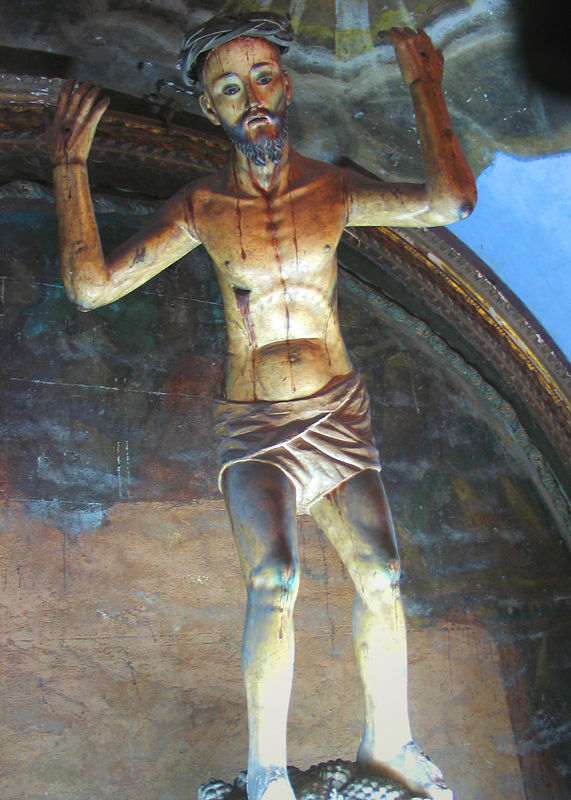 Statue of the passion of Christ, San Francisco, Convent, Lima, Peru