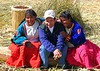 "guide girls ""Uros Floating Islands"" "" Lake Titicaca"" peru"