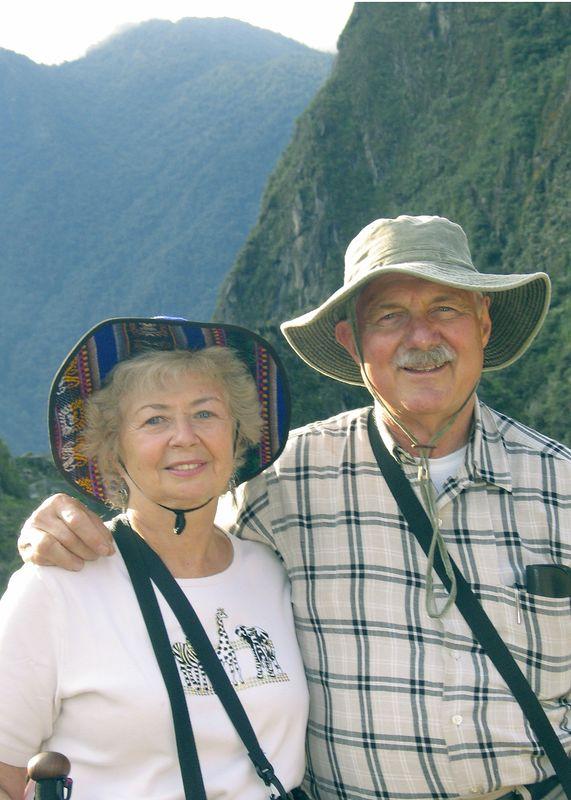 Sandy & me at Machu Pichu, Peru