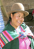 Native woman at market in Cuzco, Peru