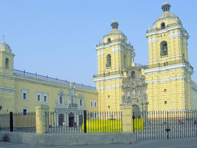 San Francisco, the 16th century convent in Lima, Peru