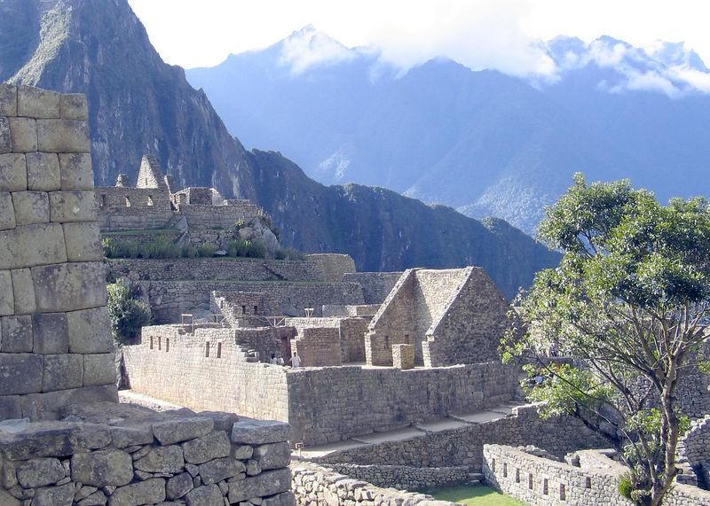 Terraces & buildings of Machu Pichu, Peru