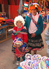Children selling goods at market, Pisac, Peru