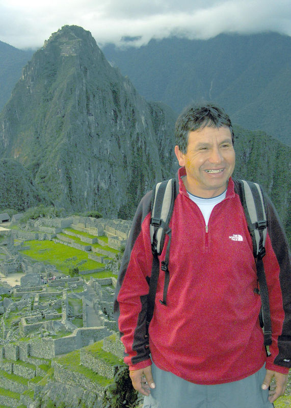 Juan at Machu Pichu, Peru
