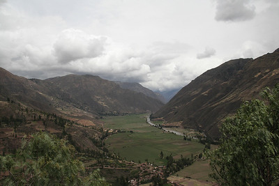 One of the valleys on the Sacred Valley tour