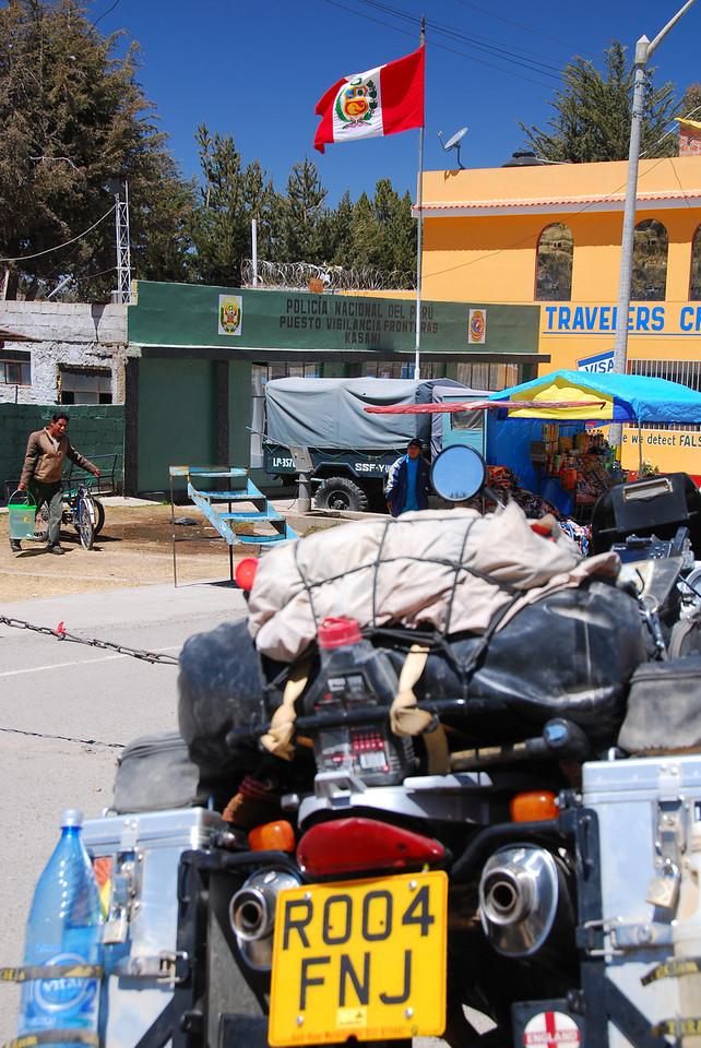 Kasani. Bolivia/Peru border