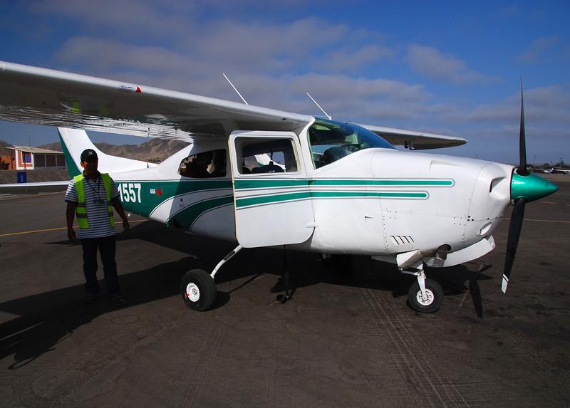 Nasca Lines flight
