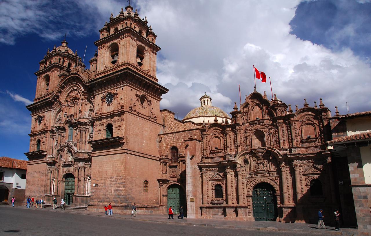 La Compania de Jesus, Plaza de Armas, Cusco