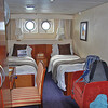 Our quarters on the Endeavor. Snug, but comfortable!<br /> Saturday, January 29, 2011