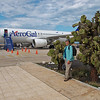 Arriving at the Galapagos airport.<br /> Saturday, January 29, 2011