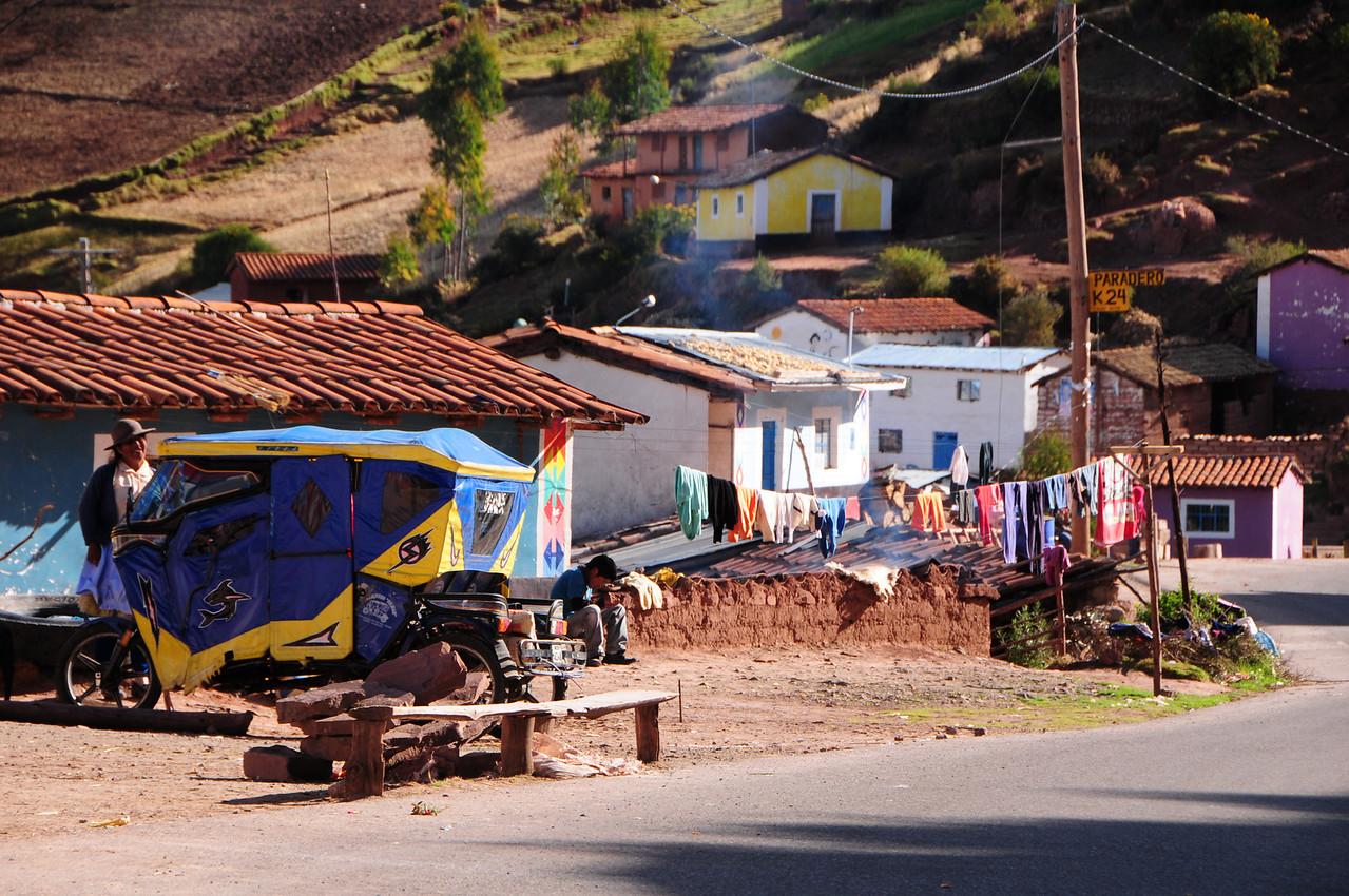 Cachi Alla.  Huancayo - Huancavelica Road. Peru