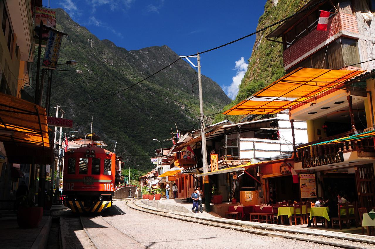 Aguas Calientes (Machu Picchu). Peru