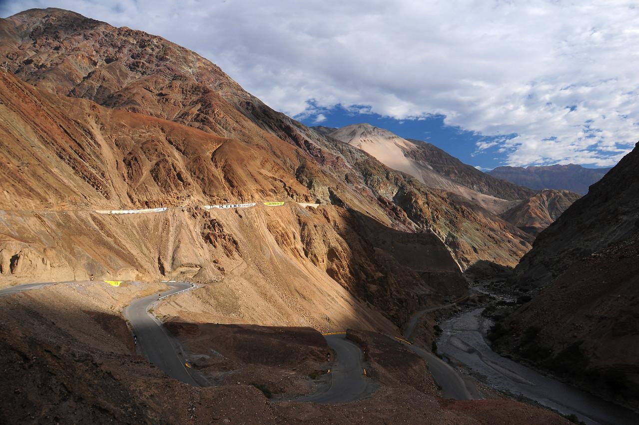 Tauca - Quiroz road.Peru