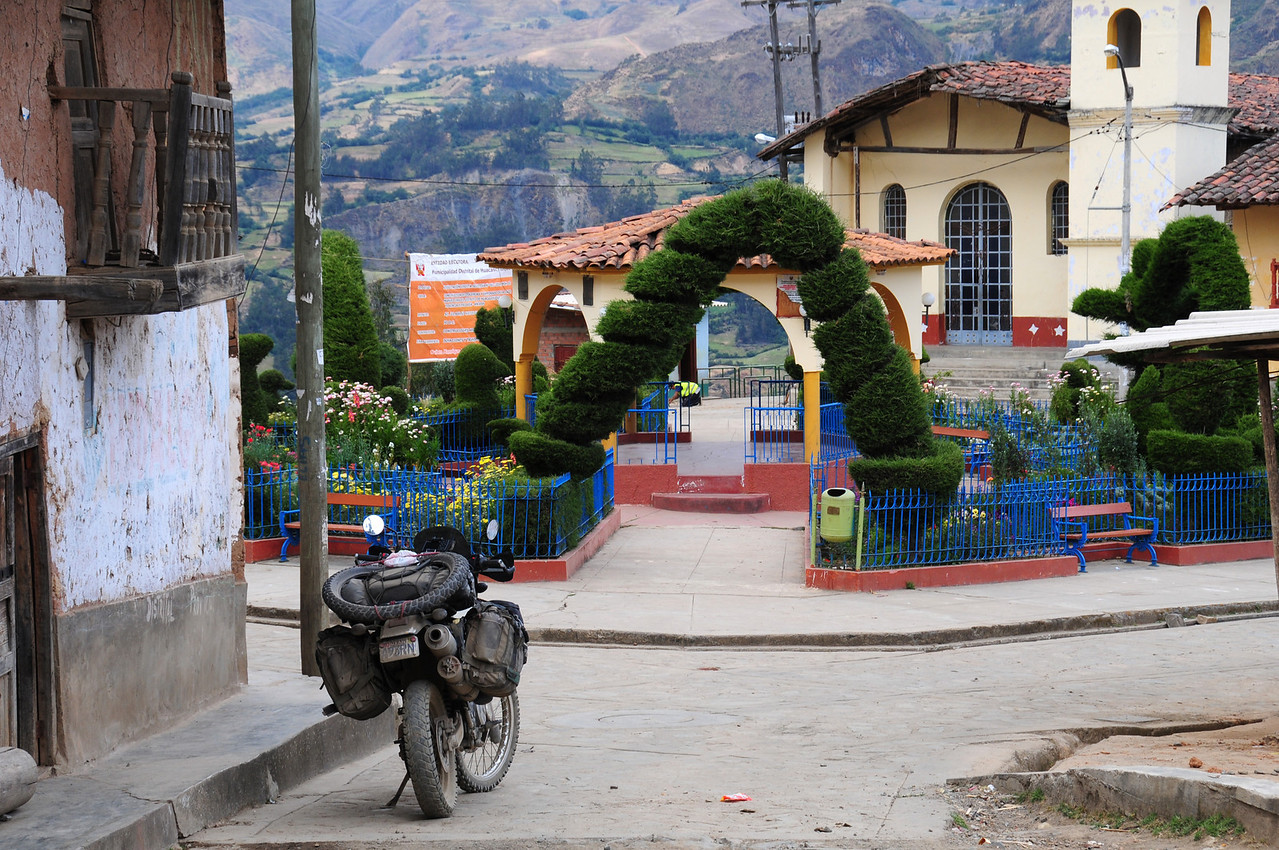 Huacasschuque, south of Pallasca. Peru
