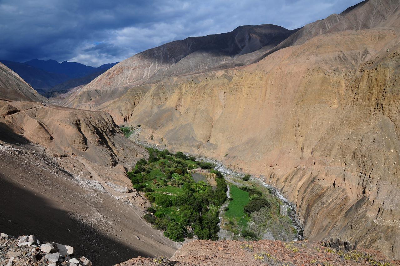 Tauca - Quiroz road. Peru