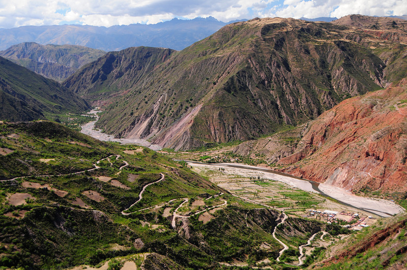 Above Antaparco on the Lircay - Ayacucho Road. Peru