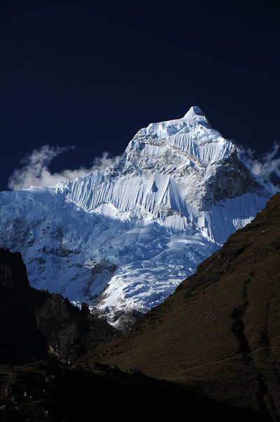 Nevado Huandoy, Cordillera Blanca. Peru