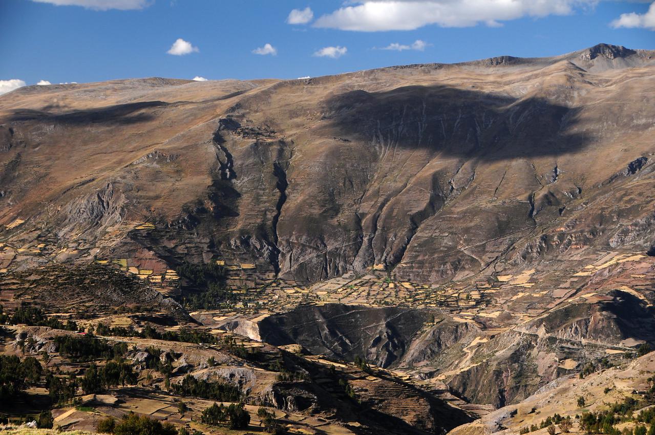 Huancayo - Huancavelica Road. Peru