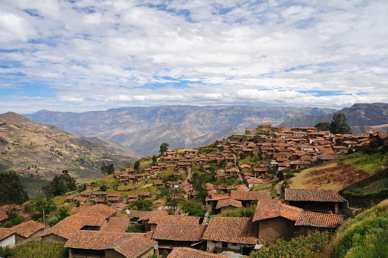 Pallasca. Peru