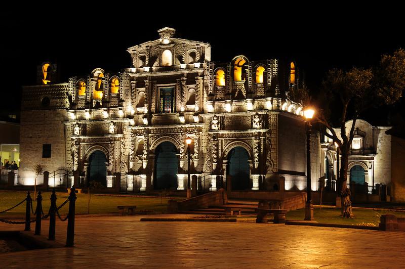 Cajamarca Cathedral. Peru