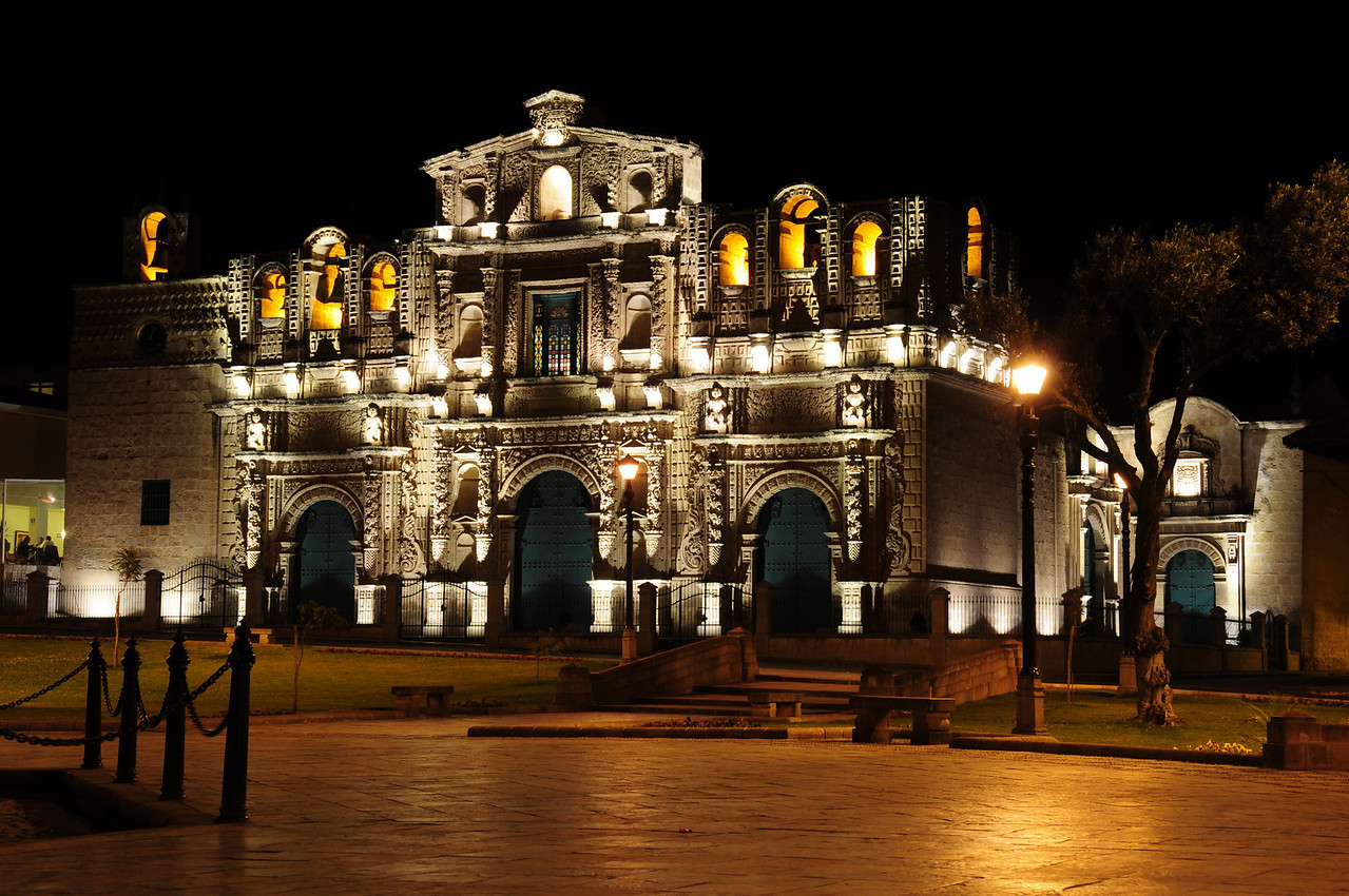 Cajamarca Cathedral. Peru