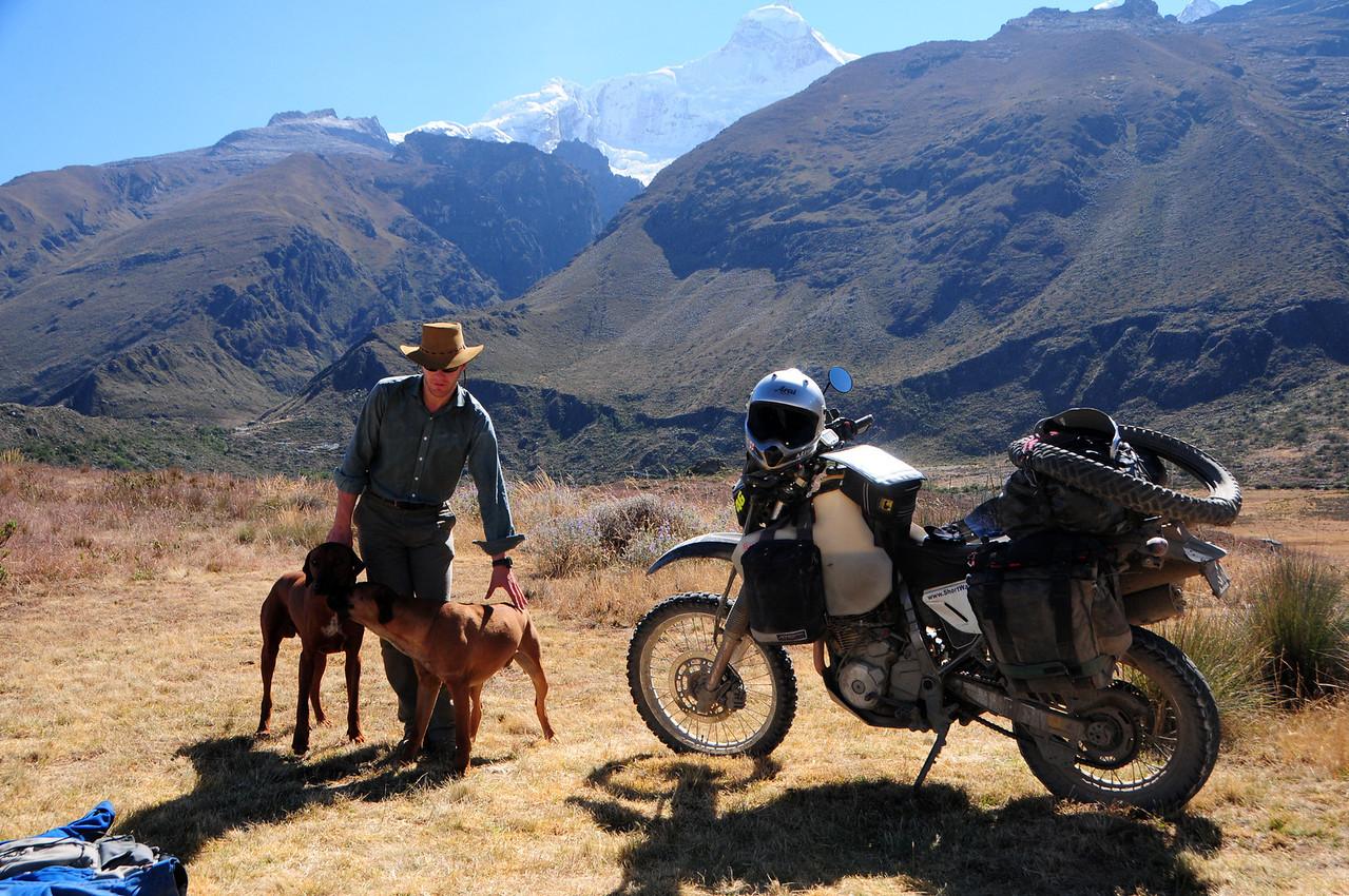 Charles Saxty-Good (Charlie) Llanganuco Mountain Lodge.  Cordillera Blanca
