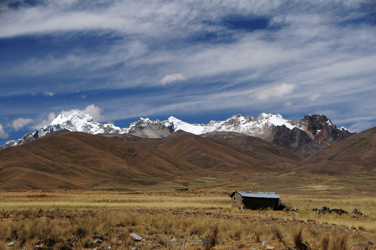 Quebrada Conde.  Catac - Chavin Road.  Cordillera Blanca. Peru
