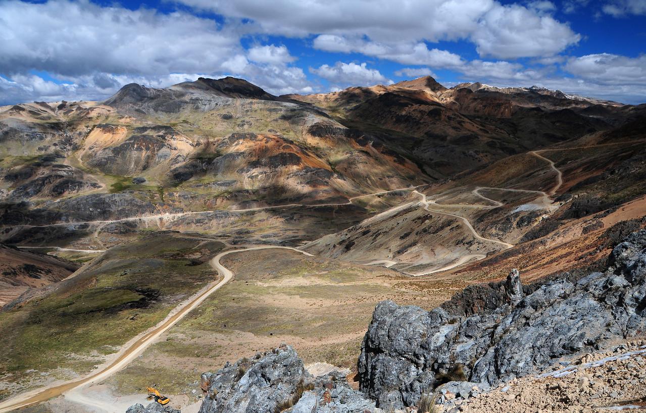 Huancavelica - Lircay (via Abra Chonta). Peru