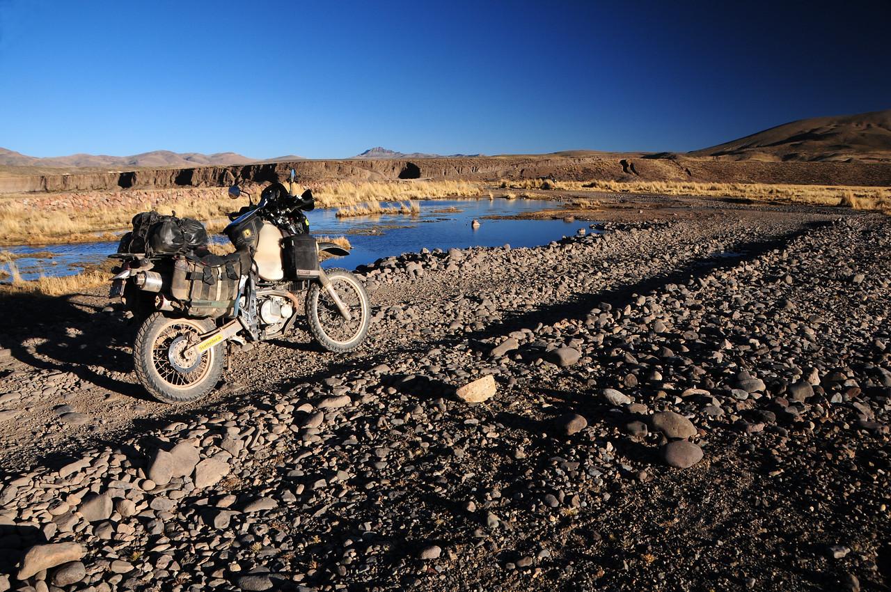 Caylloma - Sibayo road. Peru