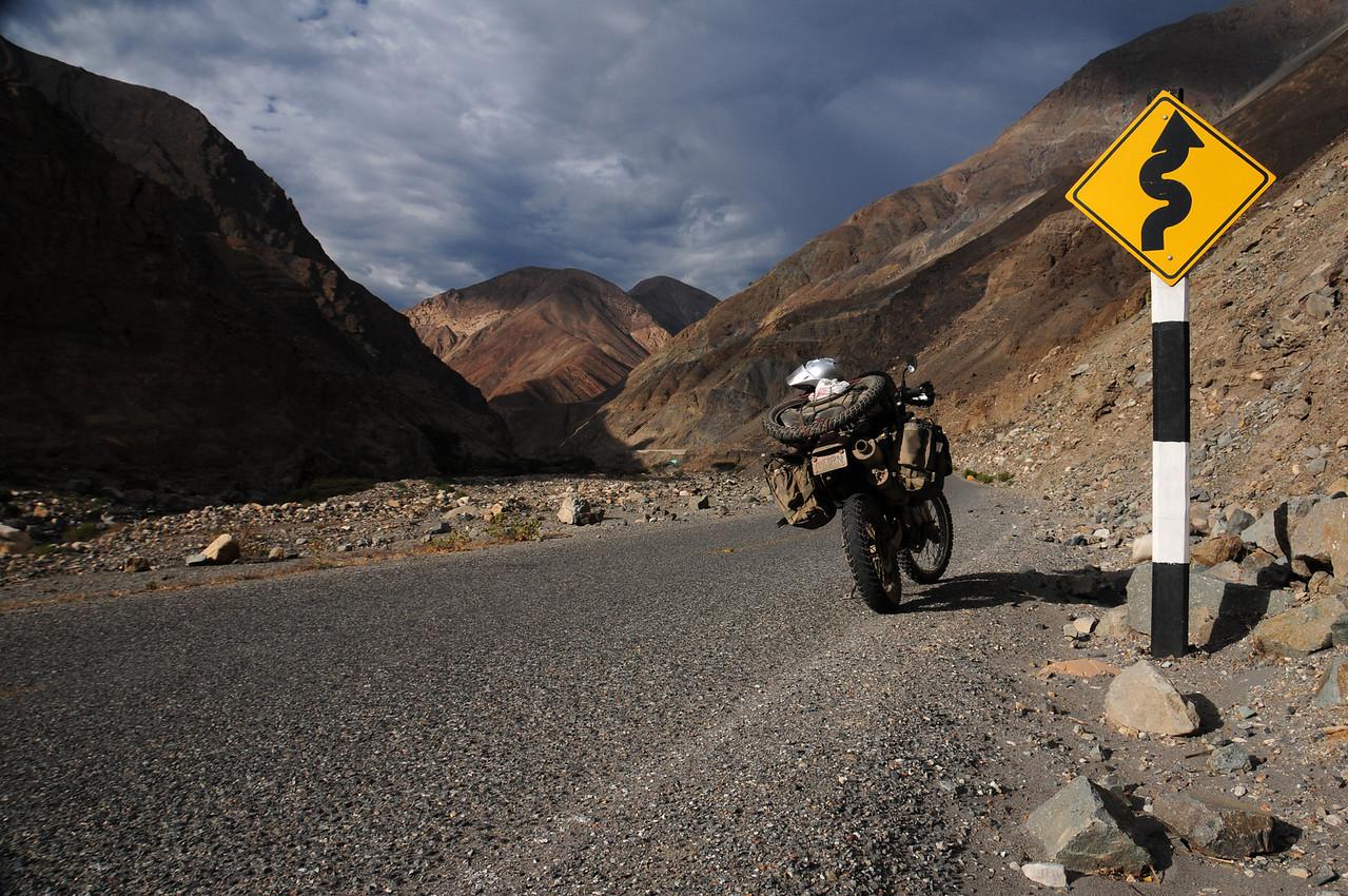 Quiroz - Chuquicara road. Peru