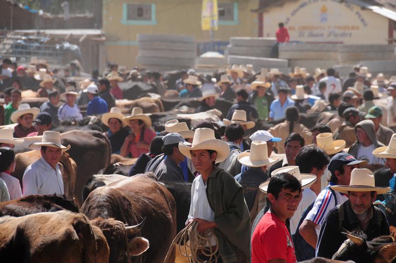 Celedin Market. Peru