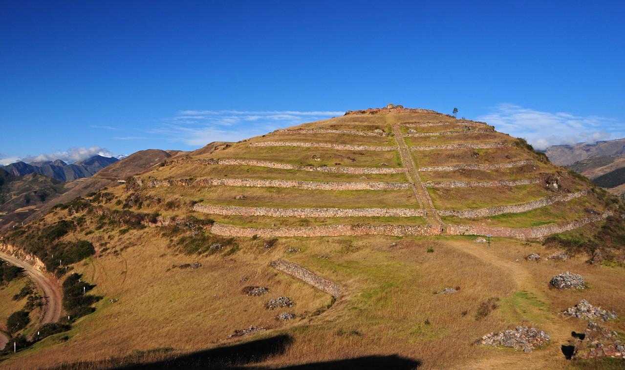 Sondor ruins nr Laguna de Pacucha,  nr Andahuaylas. Peru