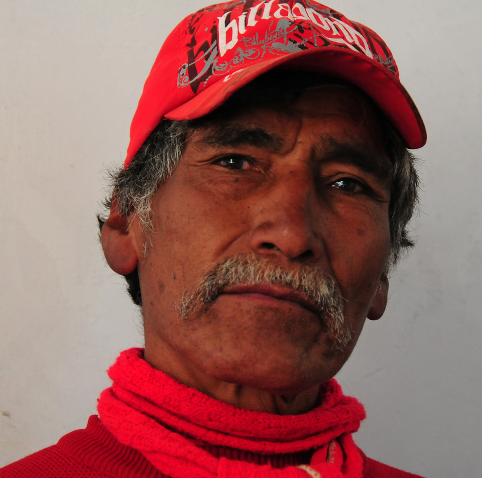 Ricardo's friend, Llapo village. Peru
