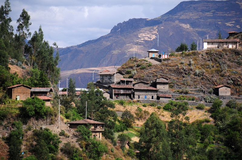 Outskirts of Pallasca. Peru
