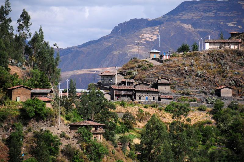 Outskirts of Pallasca. Peru