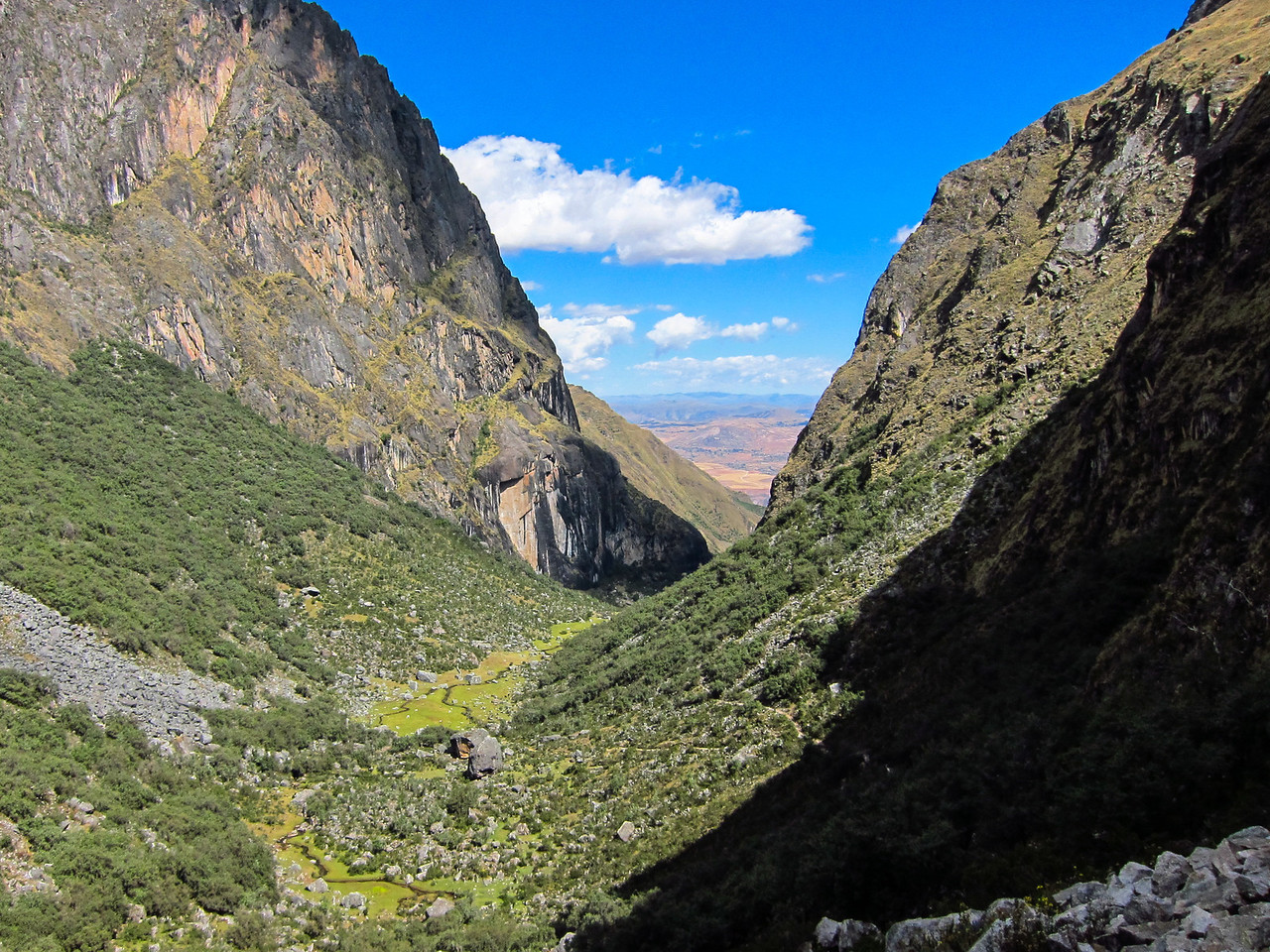 Pumahuanca Valley.