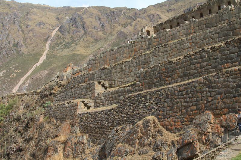 Detail of the walls of Ollantaytabmo.