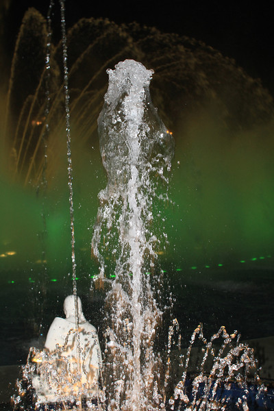 Splorp! (Another fountain at the water park in Lima)