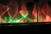 Lasers and fountains