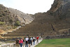 Ollantaytambo. Tough to climb (at 9200 ft altitude) sickness or no sickness!