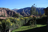 A view from our hotel in the Valle Sagrado (Sacred Valley) - The Hotel Inkallpa