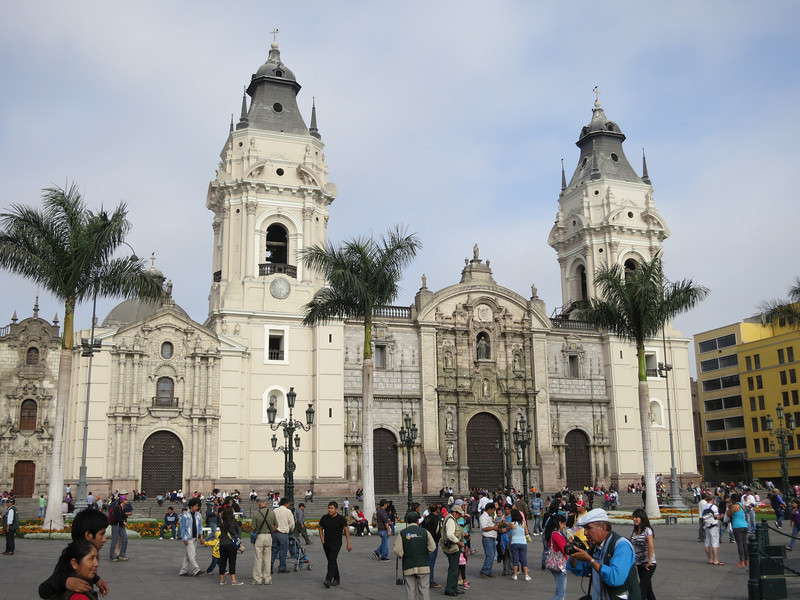 The Cathedral de Lima