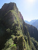 Another shot of Wayna Picchu - the climb goes up the face that is on the left of the picture, in shadows - the peak is the spot in the upper left.