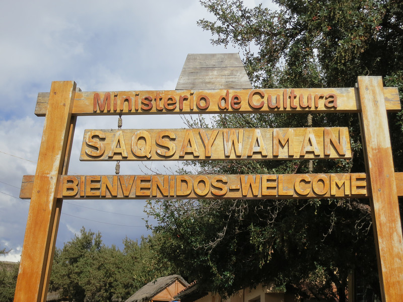 "They teach you to pronounce ""Saqsaywaman"" as ""Sexy Wo-man"". Niiice."
