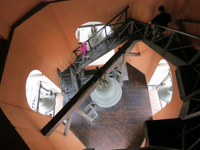 The bell tower was……big. And steep. And awesome.