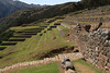 The terraced hits around the Church in Chinchero