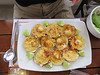 More scallops for Kay at lunch at El Piloto, on the way back to Lima