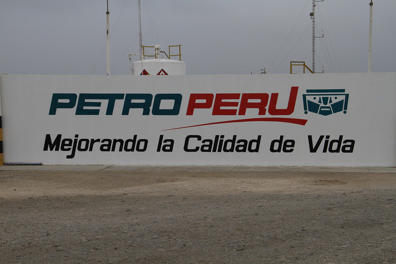 Does the logo for Petro Peru look a bit like a Hasidic Jew Transformer? Oy vey, robots in disguise!