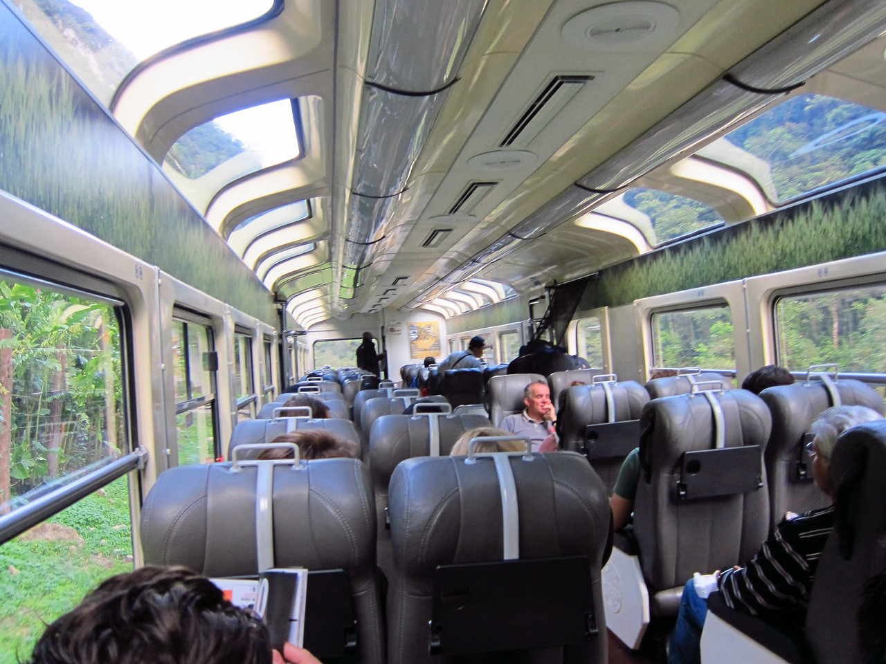 Peru Rail Vistadome to  Machu Picchu