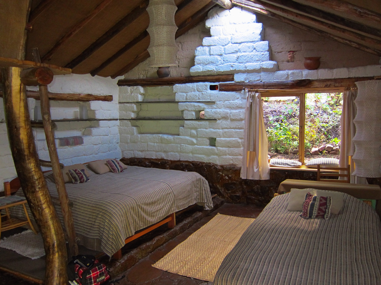 Hotel room at Las Chulpas Eco Lodge: http://www.chullpas.pe/